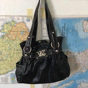 Kathy van zeeland black purse